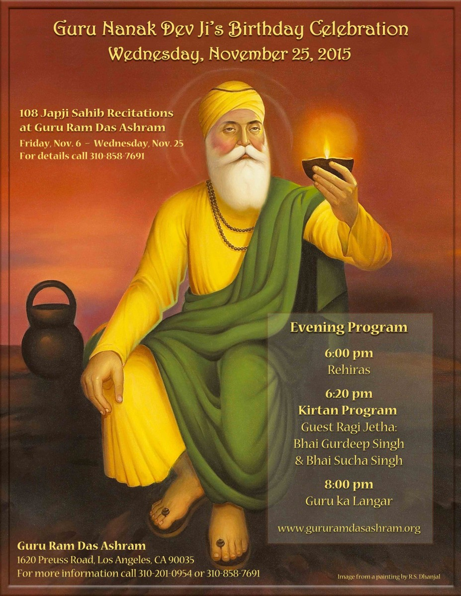 Guru Nanak Dev Ji's Birthday Celebration