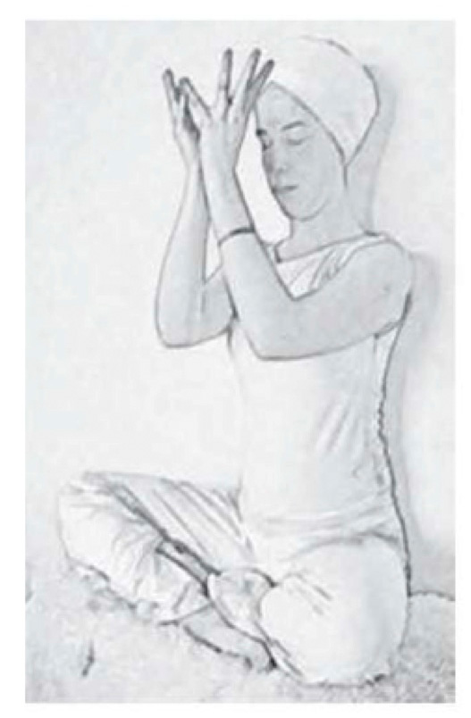 Yoga Lotus 3rd Eye Mudra